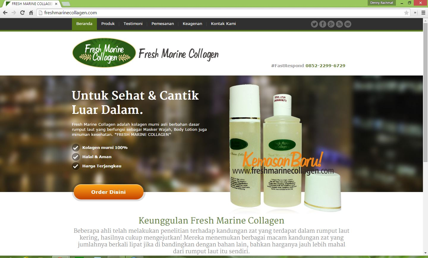 fresh marine collagen